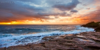2014april_07042014_7-18_Curl_Curl_Sunrise_beach_ocean_Sydney_Northern_beaches_NSW_Australia_by_Pavel_Trotsenko