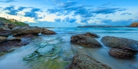 2014MAY_01052014_6-27_Freshwater_Sunrise_beach_ocean_Sydney_Northern_beaches_NSW_Australia_by_Pavel_Trotsenko_Lena_Postnova