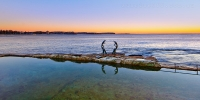 2014MAY_04052014_6-30_Manly_Sunrise_beach_ocean_Sydney_Northern_beaches_NSW_Australia_by_Pavel_Trotsenko_Lena_Postnova
