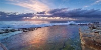 2014MAY_06052014_6-36_Dee_Why_Sunrise_beach_ocean_Sydney_Northern_beaches_NSW_Australia_by_Pavel_Trotsenko_Lena_Postnova