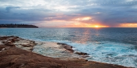 2014MAY_13052014_6-40_Curl_Curl_Sunrise_beach_ocean_Sydney_Northern_beaches_NSW_Australia_by_Pavel_Trotsenko_Lena_Postnova