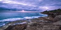 2014MAY_30052014_6-40_Curl_Curl_Sunrise_beach_ocean_Sydney_Northern_beaches_NSW_Australia_by_Pavel_Trotsenko_Lena_Postnova