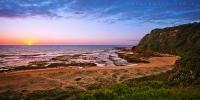 2014NOV_11012014_5-50_Turimetta_Sunrise_beach_ocean_Sydney_Northern_beaches_NSW_Australia_by_Pavel_Trotsenko_Lena_Postnova